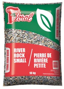 Pierre de rivière petite - Floral