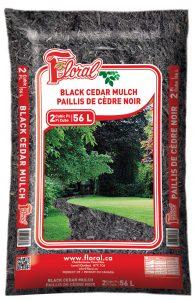 Paillis de cèdre noir - Floral