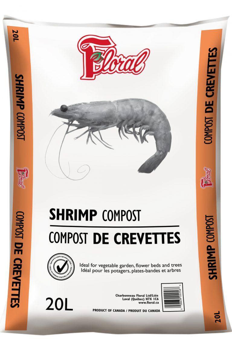 COMPOST DE CREVETTE - FLORAL