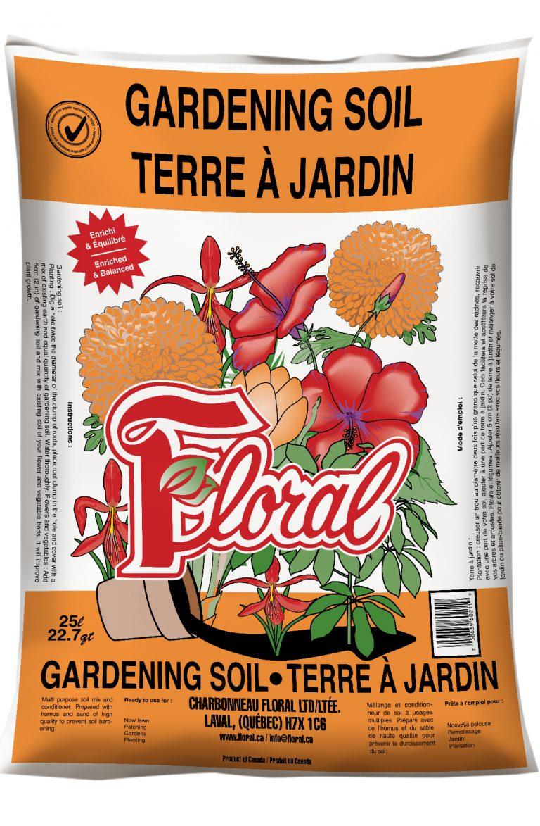 Terre à jardin - Floral